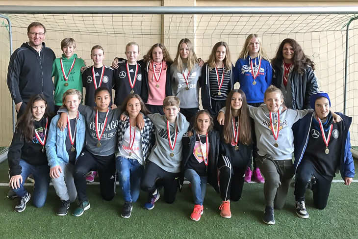 Bronze in Malente: Die U 14-Juniorinnen des BFV. (Foto: frei)