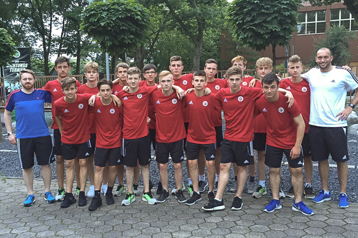 Die U 15-Junioren können auf ein gutes DFB-Sichtungsturnier zurückblicken. (Foto: privat)