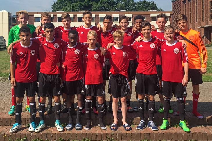 Die U 15-Junioren kamen nicht über den 22. Platz hinaus. (Foto: Jens Dortmann)