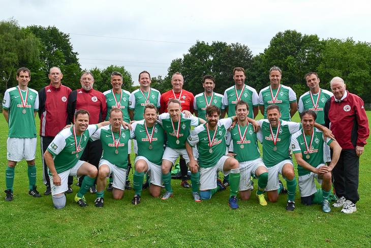 Der SV Werder Bremen vertritt die Bremer Farben beim norddeutschen Turnier. (Fotos: Heiko Franz)