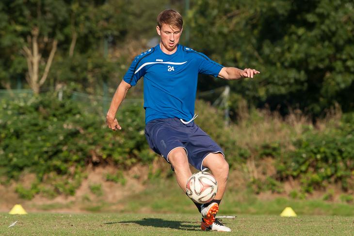 André Waldau vom Bremer SV überzeugte im Training und reist mit der BFV-Auswahl nach Tschechien. (Foto: Oliver Baumgart)