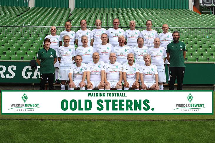 Die Oold Steerns des SV Werder Bremen. (Foto: WERDER.DE)