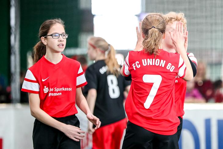 Die erste Mannschaft des FC Union 60 erringt den dritten Platz. (Foto: Sven Peter)