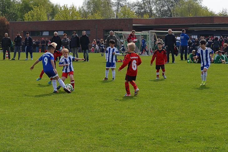 Spielszene des letztjährigen Traditionsturniers. (Foto: Holger Franz)