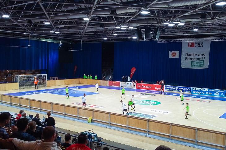 Das U 11-Turnier fand noch in der Stadthalle in Bremerhaven statt. Alle anderen Altersklassen spielten in der Walter-Kolb-Halle. (Foto: privat)