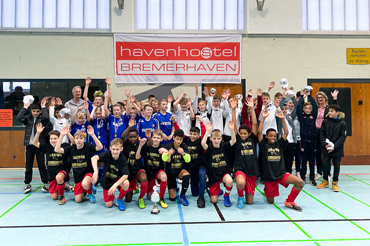Die Teams des U 13-Stützpunktturnieres. (Foto: privat)