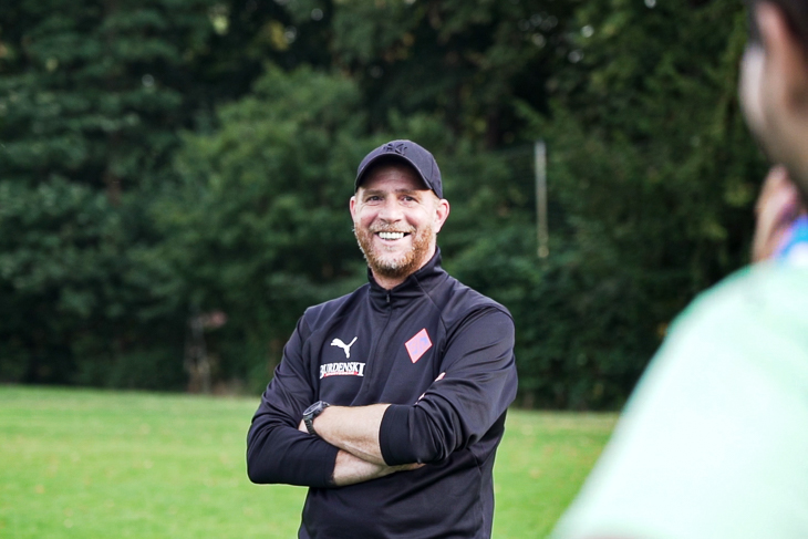 BSV-Trainer Steffen Dieckermann freut sich auf das anstehende LOTTO-Pokalfinale. (Foto: David Dischinger)