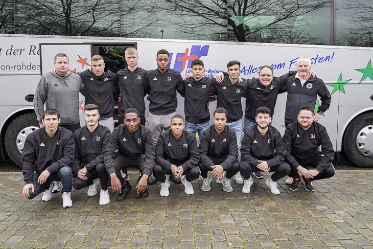 Auf geht es nach Duisburg für die BFV-Futsal-Landesauswahl. (Foto: David Dischinger)