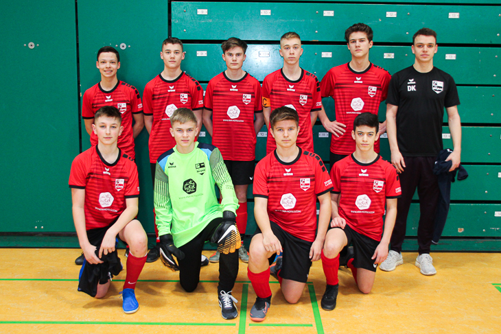 Die C-Junioren des SC Borgfeld. (Foto: Ralf Krönke)