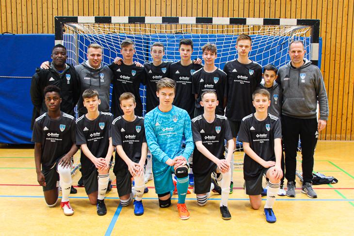 Die C-Junioren des JFV Weyhe-Stuhr. (Foto: Ralf Krönke)