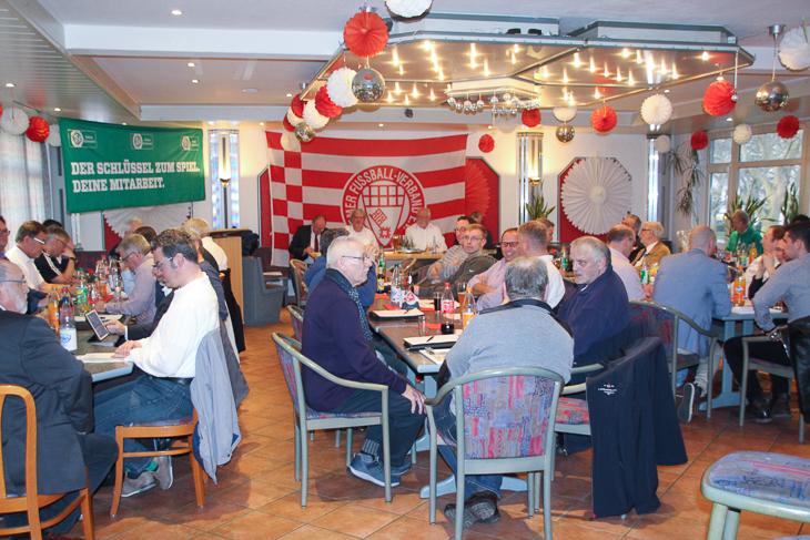 Der Kreistag Bremerhaven ging in einer gemütlichen Runde vonstatten. (alle Fotos: Ralf Krönke)