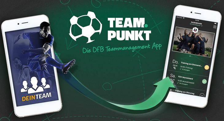 Mit der DFB Teammanagement App lässt sich die Mannschaft fast von selbst organisieren. (Foto: DFB)