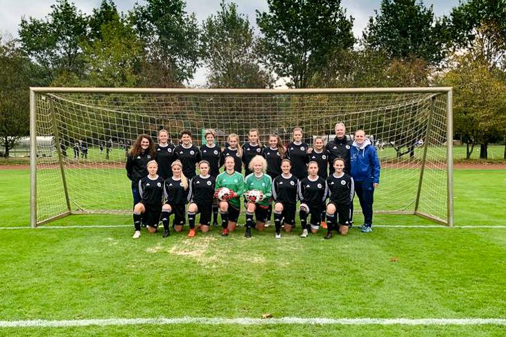 Mannschaftsfoto der U 18-Juniorinnen des BFV. (Foto: privat)