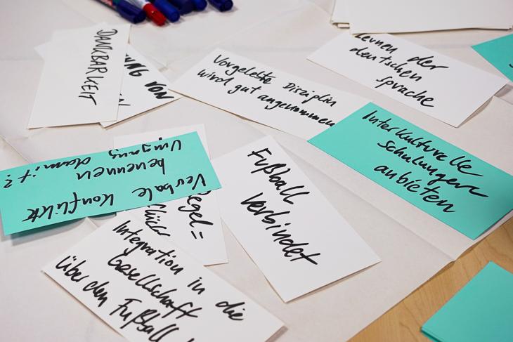 Viele gute Beispiele, aber auch Herausforderungen und Probleme wurden von den Vereinsvertretern herausgestellt. (Foto: David Dischinger)