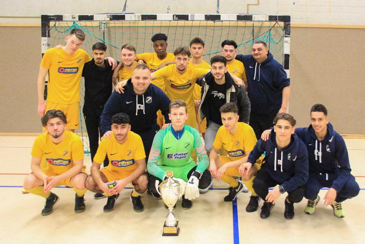 Der TuSpo Surheide ist Futsal-Landesmeister der A-Junioren. (Foto: Ralf Krönke)