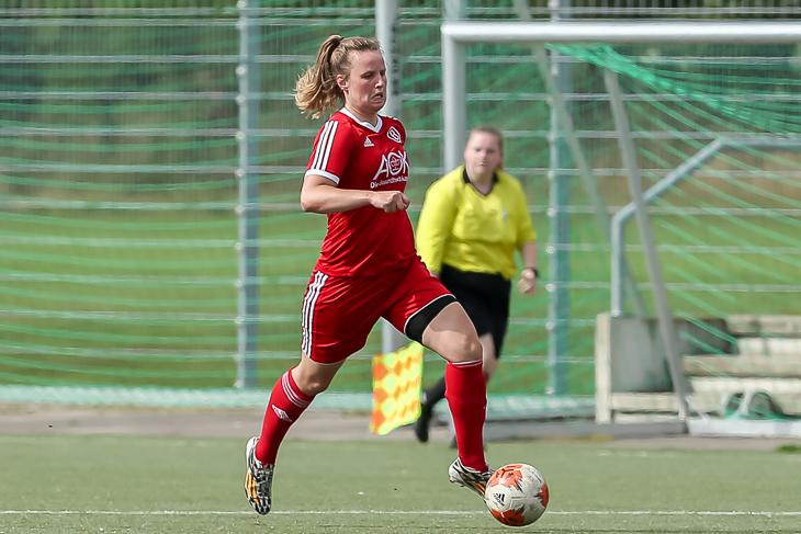 ATS-Neuzugang Franziska Gieseke will mit Buntentor ins Finale. (Foto: Oliver Baumgart)