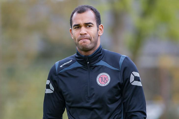 TuS-Trainer Benjamin Eta war mit dem Auftreten seiner Mannen bei der SV Hemelingen alles andere als zufrieden. (Foto: Oliver Baumgart)