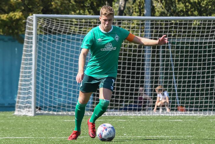 Jonas Haubner empfängt mit Werders Dritter den SC Borgfeld. (Foto: Olaf Lücke)