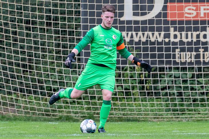 Marcel Pfaar hat mit dem BSC Hastedt den Bremer SV zu Gast. (Foto: Oliver Baumgart)