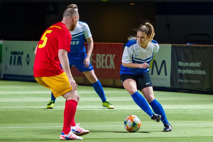 Mit Meggie Schröder (r.) hatte die ÖVB eine ehemalige Bundesligaspielerin im Kader. (Foto: Oliver Baumgart)