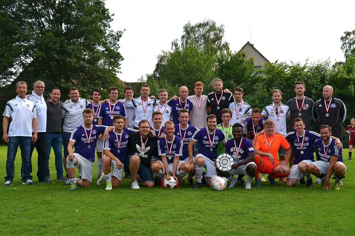 Meister der Bezirksliga: Die SG Findorff. (Foto: Chantal Burmeister)