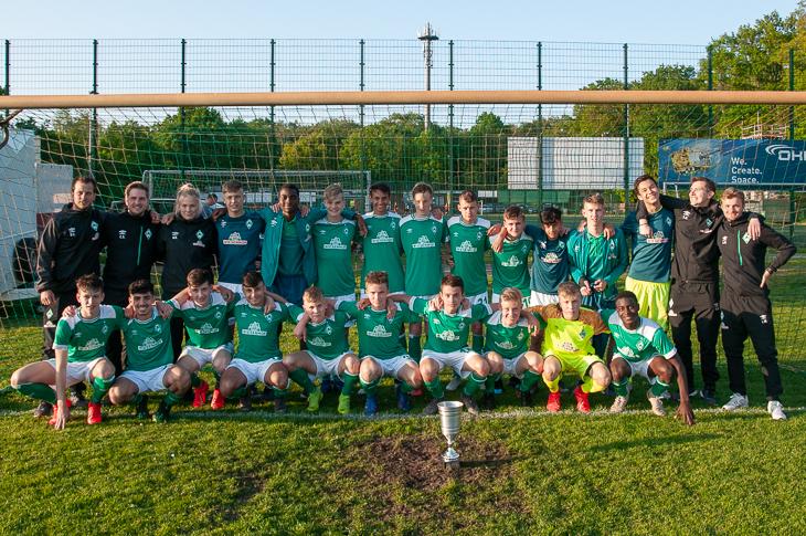 Landespokalsieger der C-Junioren ist der SV Werder Bremen. (Foto: Rune Orb)