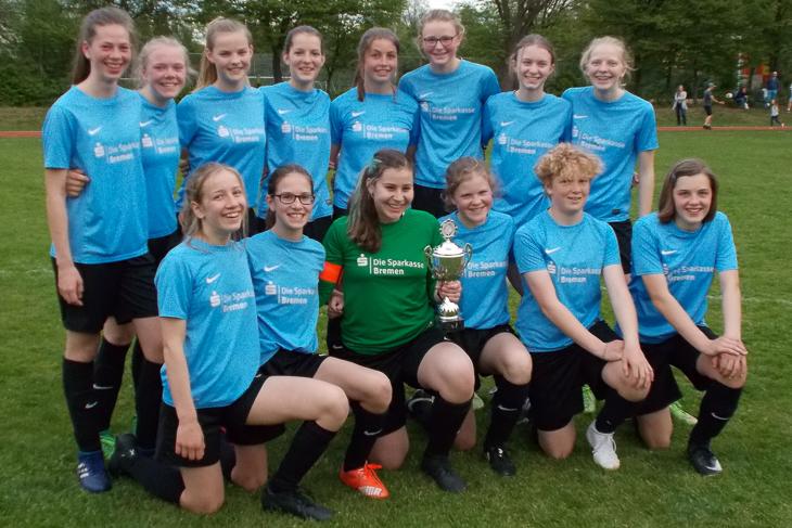 Das Siegerteam des FC Union 60. (Foto: Joachim Dietzel)