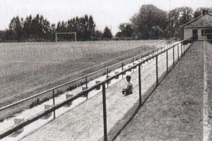 Der legendäre Rotgrandplatz auf dem Lesumer Heidberg in den 60er-Jahren. (Foto: unbekannt)