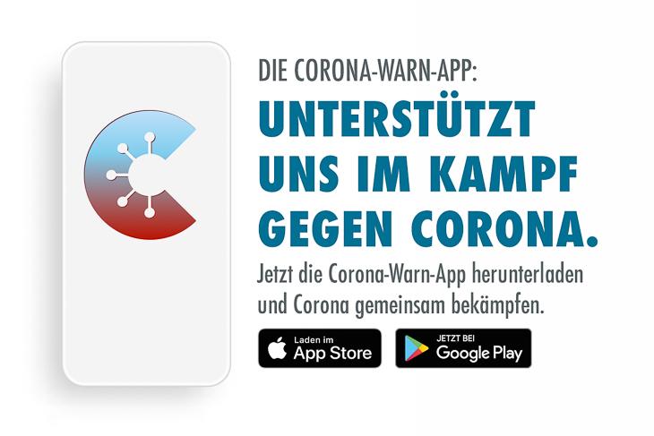Die Corona-War-App von der Bundesregierung kann jetzt heruntergeladen werden. (Foto: Bundesregierung)