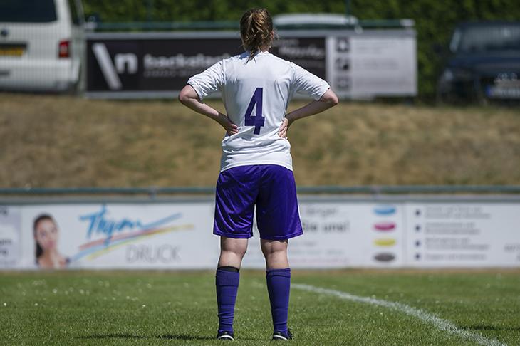 Diesen Anblick wird es in der kommenden Saison nicht mehr geben. Die Rückennummern müssen entfernt werden. (Foto: Oliver Baumgart)