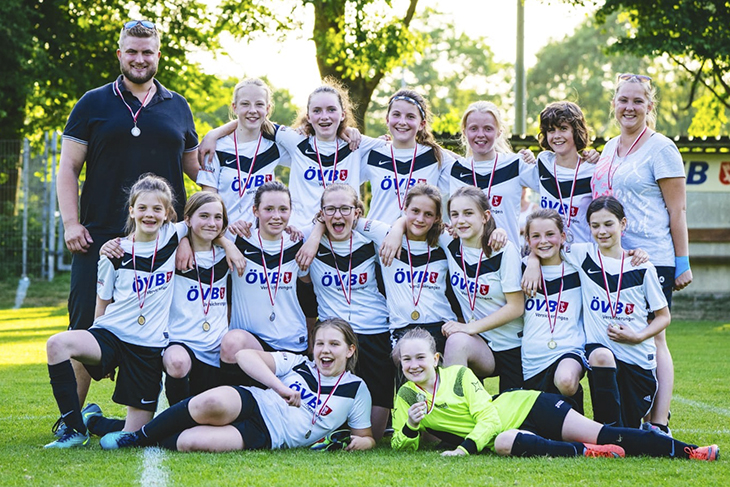 Die C-Mädchen des SC Borgfeld. (Foto: Verein)