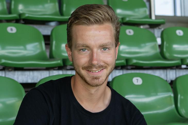 Rune Orb will dem Mädchenfußball auch nach seinem #FUSOJA treu bleiben. (Foto: Oliver Baumgart)