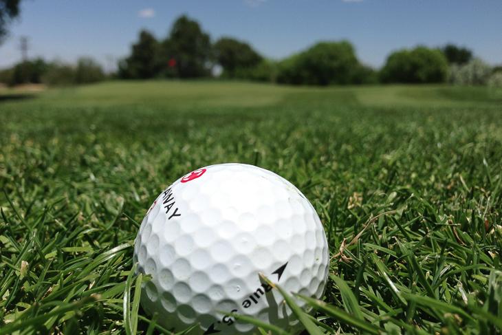 In dieser Woche tauschte Rune Orb den Fußball gegen den Golfball.