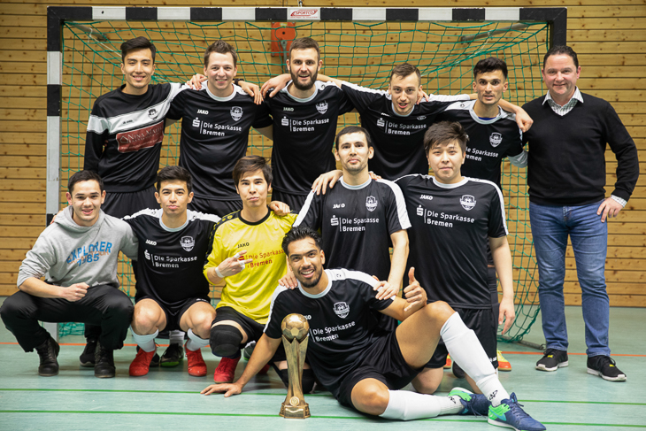 Das Siegerteam des FC Riensberg. (Foto: Fred Michalsky)