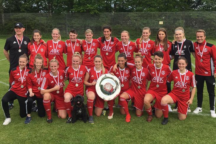 Meister der Frauen-Verbandsliga: Der ATS Buntentor. (Foto: privat)