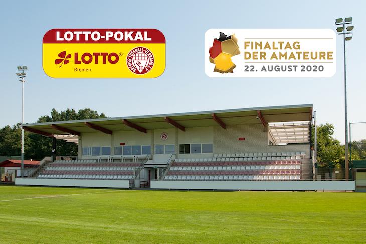 Die diesjährige Finalspielstätte: Das Stadion Vinnenweg. (Foto: Oliver Baumgart)