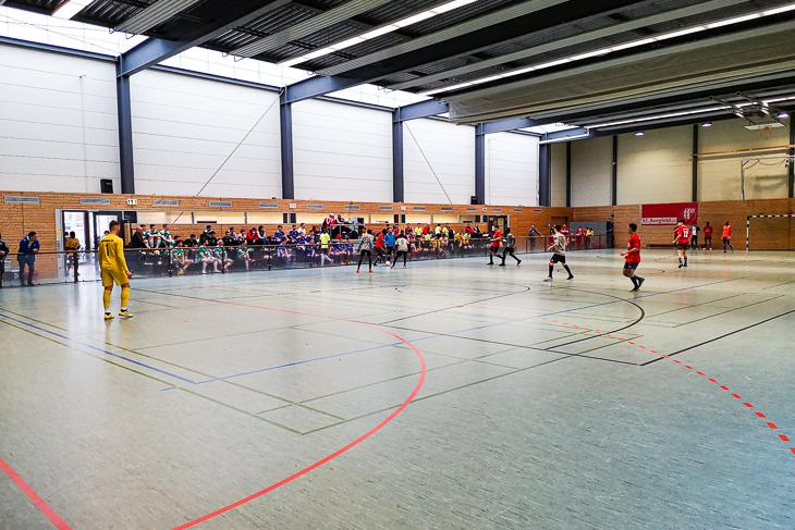 Die Halle in Borgfeld wurde als Austragungsort genutzt. (Foto: privat)