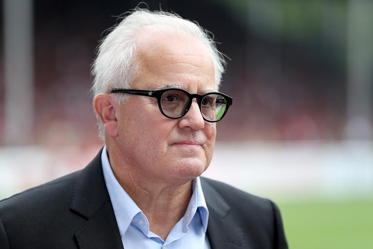 DFB-Präsident Fritz Keller hat einen offenen Brief an alle Schiedsrichterinnen und Schiedsrichter in Deutschland verschickt. (Foto: Bongarts/Getty Images)