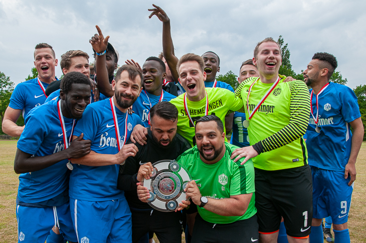 Die SV Hemelingen ist Meister der Landesliga. (Foto: Oliver Baumgart)