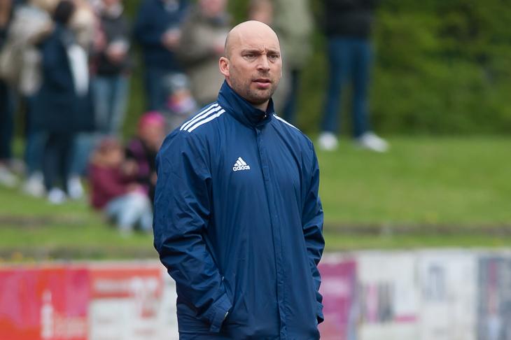 Coach Dennis Ley muss mit der Leher TS zum Derby beim OSC Bremerhaven antreten. (Foto: Oliver Baumgart)