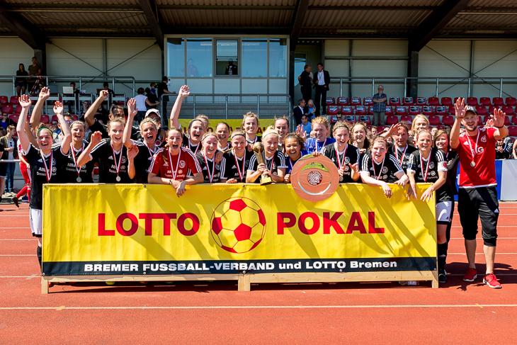 Der TuS Schwachhausen will den LOTTO-Pokal der Frauen verteidigen. (Foto: Dennis Gloth)