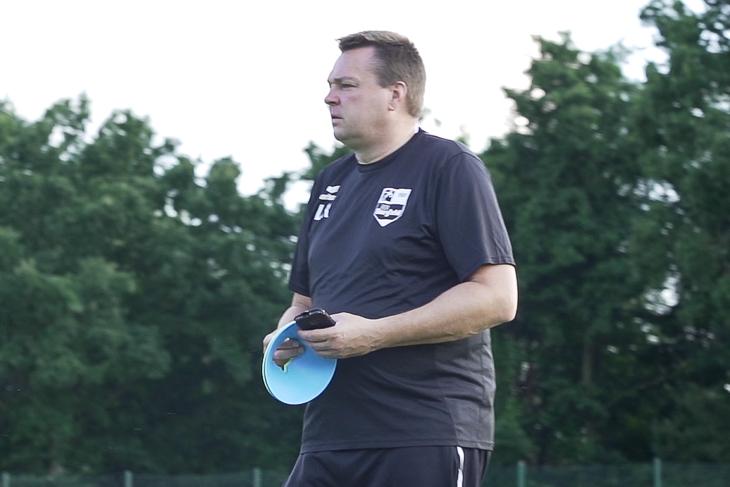 Lutz Repschläger tritt mit Borgfeld nicht zum Verlieren an. (Foto: David Dischinger)