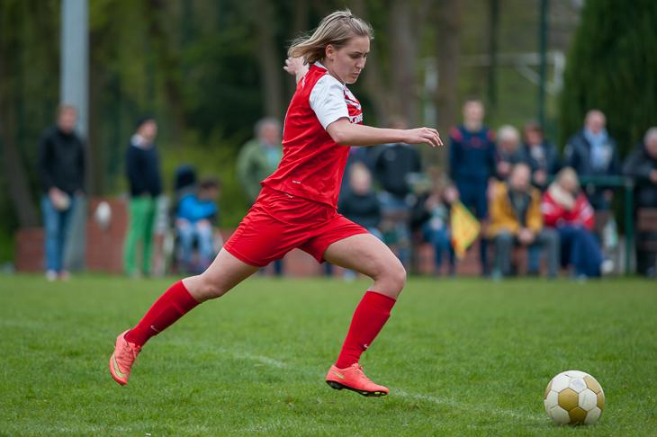 Juliane Stecking und der OSC Bremerhaven gewannen in letzter Minute gegen den ATSV Sebaldsbrück. (Foto: Oliver Baumgart)