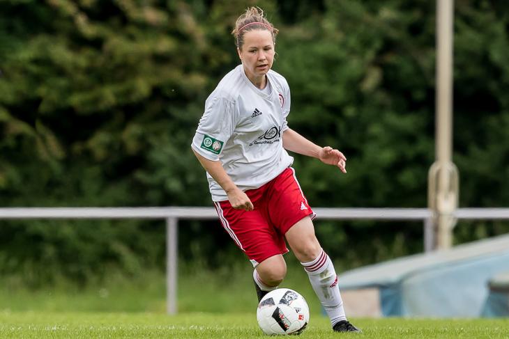 ATS-Kapitänin Jennifer Brimmer fiebert dem Pokalfinale entgegen. (Foto: dgphoto.de)