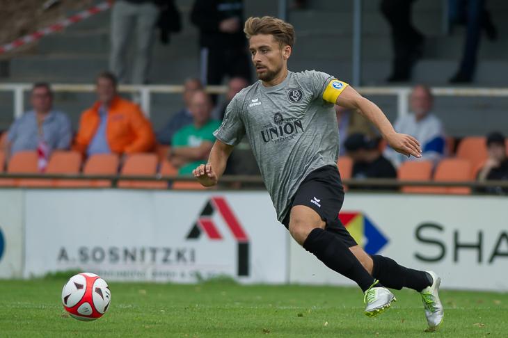 Alexander Arnhold und der Bremer SV sind bereit für den großen Pokalfight. (Foto: Oliver Baumgart)