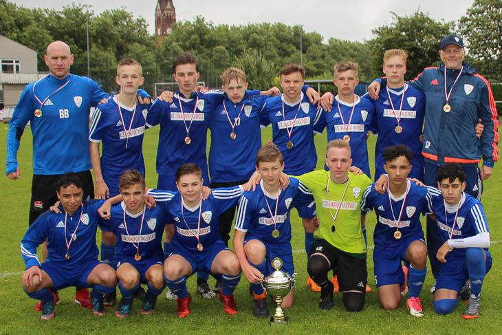 Sieger bei den B-Junioren wurde der JFV Bremerhaven II. (Foto: Ralf Krönke)