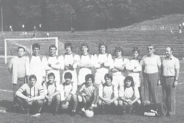 Mit nur 13 Spielern fuhr die BFV-Auswahl in diesem Jahr nach Danzig. (Foto: Archiv)