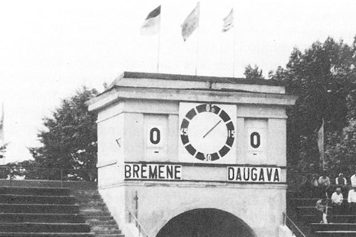 Hier war das Ergebnis gegen die Truppe aus Riga noch ordentlich. (Foto: Archiv)