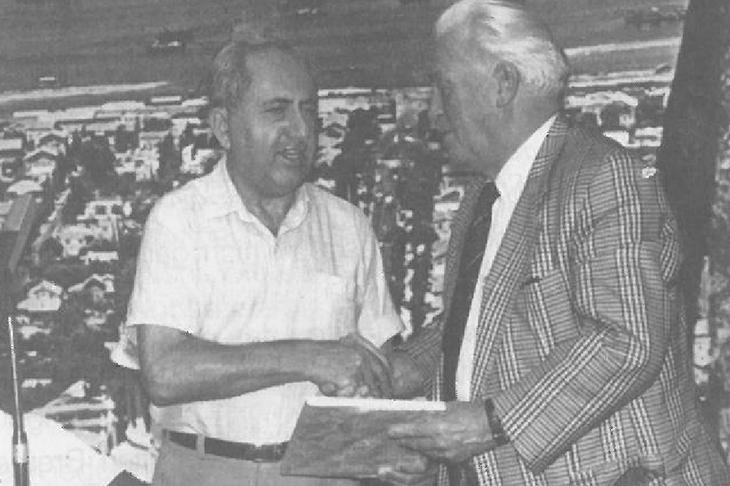 Der stellvertretende Bürgermeister von Haifa begrüßte die BFV-Delegation im Rathaus. (Foto: Archiv)