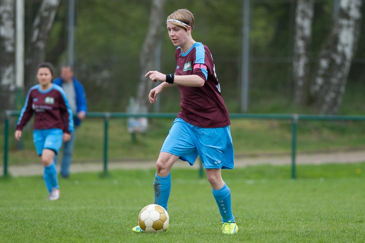 Melanie Rethmeyer muss mit dem Blumenthaler SV in Huchting ran. (Foto: Oliver Baumgart)